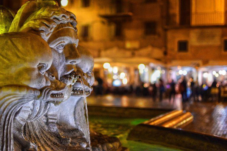FUENTES Y PLAZAS DE ROMA