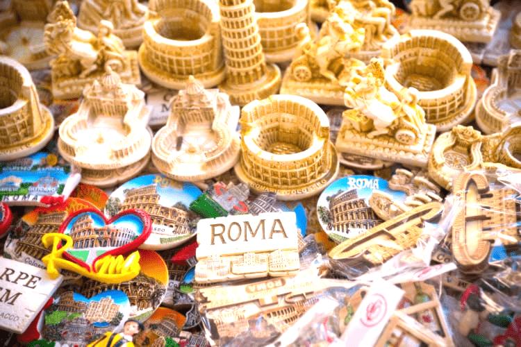 ARTÍCULOS Y SOUVENIRS DE ROMA