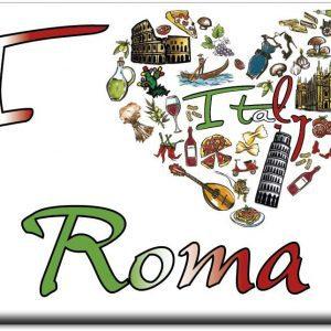 IMÁN I LOVE ROMA ITALY