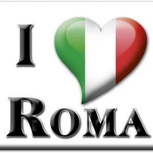 IMÁN I LOVE ROMA