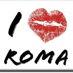 IMÁN I LOVE KISS ROMA