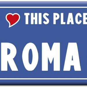 IMÁN ROMA I LOVE THIS PLACE
